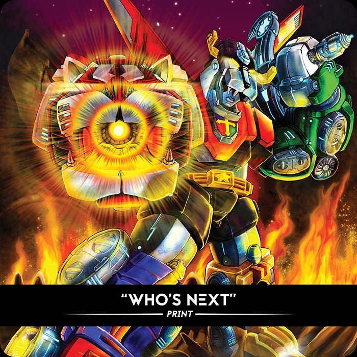Image of Who's Next - Print