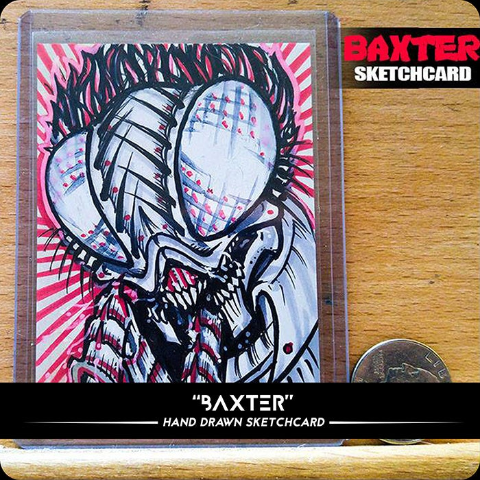 Image of Baxter - Original Sketchcard