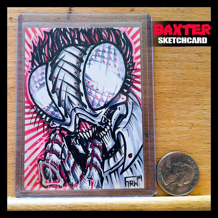 Image of Baxter - Original Sketchcard