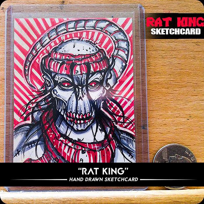 Image of Rat King - Original Sketchcard