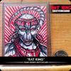 Rat King - Original Sketchcard