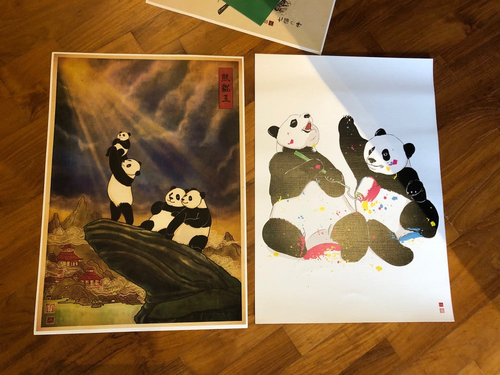 Image of A3 Panda Set