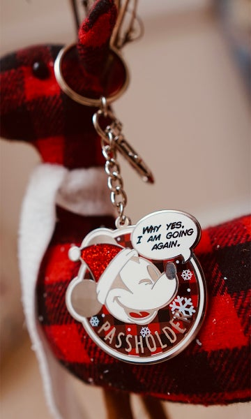 Image of Holiday Edition - AP Parody Keychain