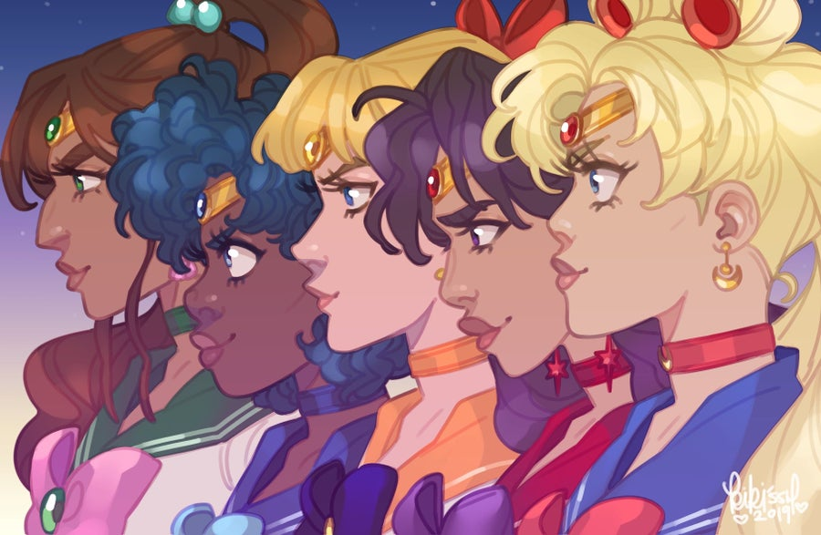 Image of Sailor Scouts Posters & Zipper Pouch