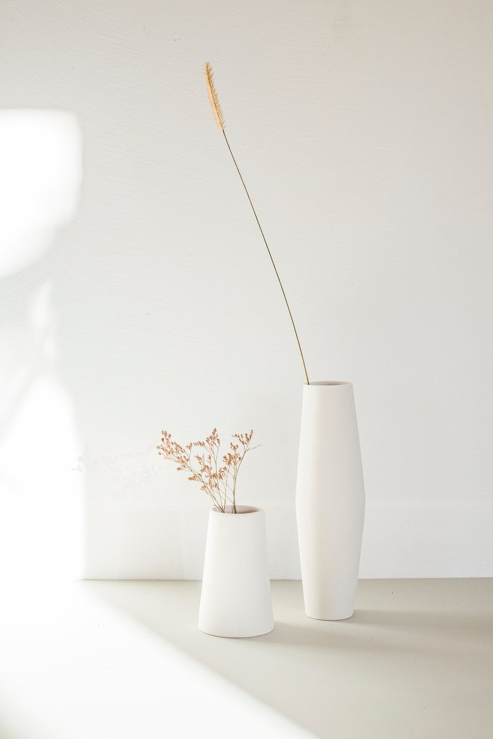 Image of Vase gross und klein / Vase large and small