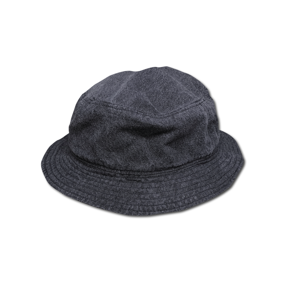 Image of RYE® BOON BUCKET HAT BLACK SULFER DYE