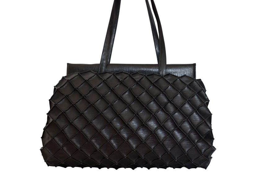 Image of Pineapple bag XL - Black