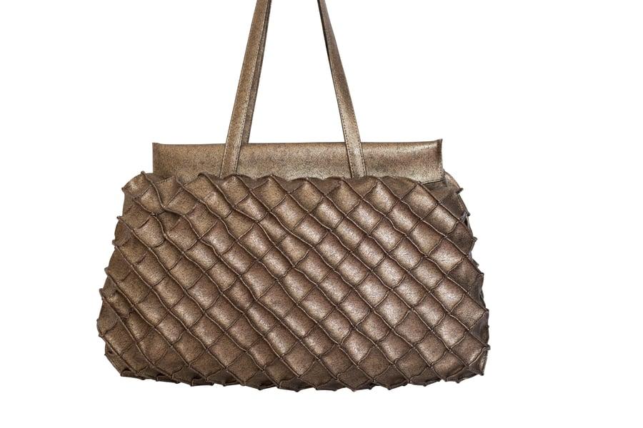 Image of Pineapple bag XL - Bronze