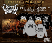 Image of CEPHALIC IMPURITY Unique Brute Revival CD and MERCH NEW !!!