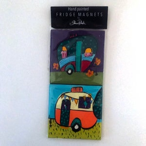 "Image of Fridge magnets ""Caravans"""