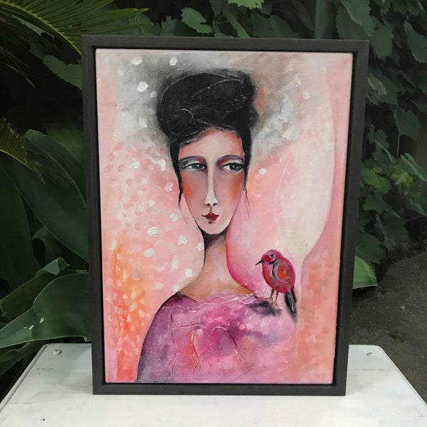 "Image of ""A Kind Soul"" Original Painting"