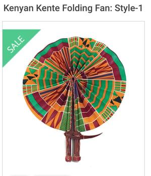 Image of Kenta Handmade Fan