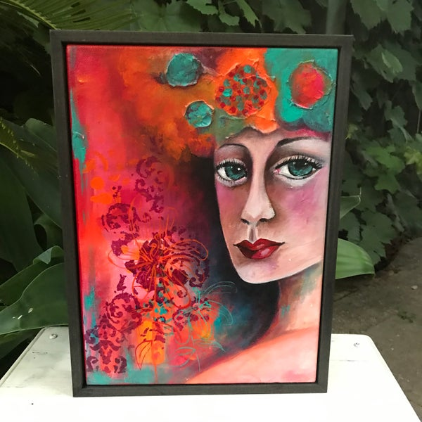 "Image of ""Summer Days"" original painting"