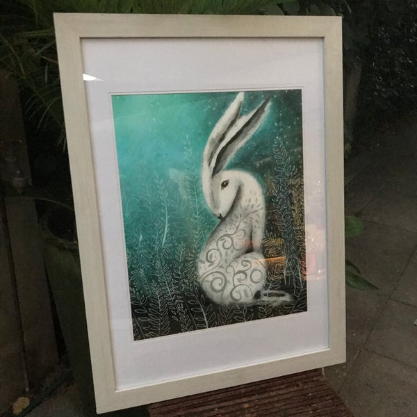 "Image of ""Into The Woods Dreaming"" Framed Print"