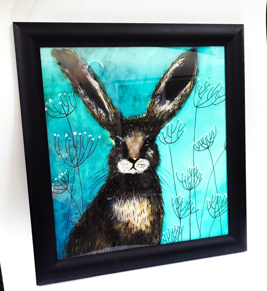 "Image of ""Wild Rabbit"" Framed Print"