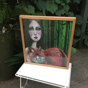 """Image of """"Fox Spirit Animal"""" FRAMED Print"""