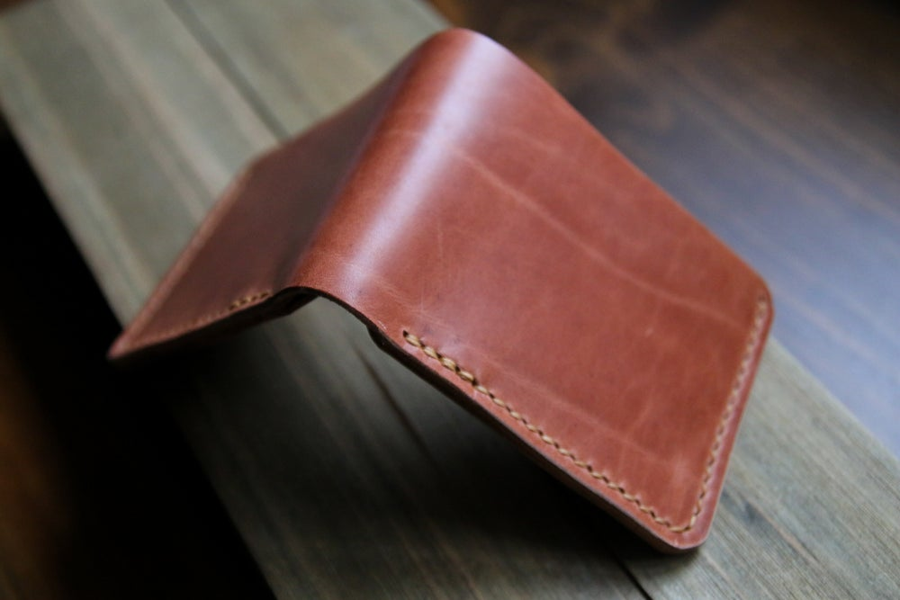 Image of Revision Bifold in Horween Natural Dublin