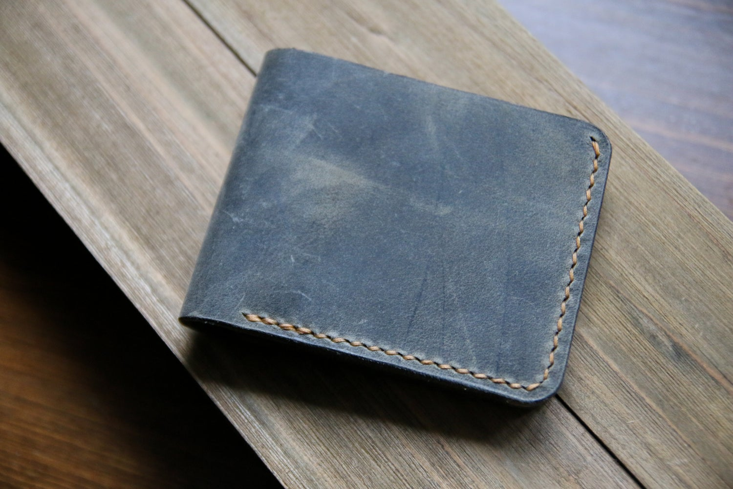 Image of Revision Bifold in Sage Vintage and Natural Chromexcel