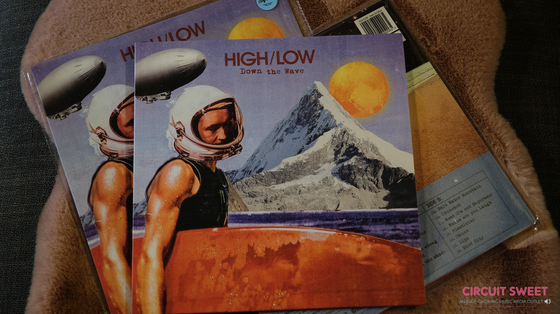 Image of HIGH/LOW - Down The Wave LP