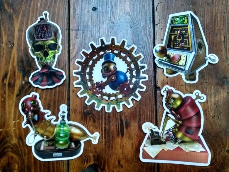 Image of Mechtorian Sticker Set