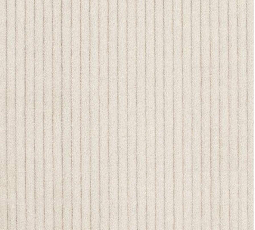 Image of Velours grosses côtes beige, COUPON de 3m en 150 de large