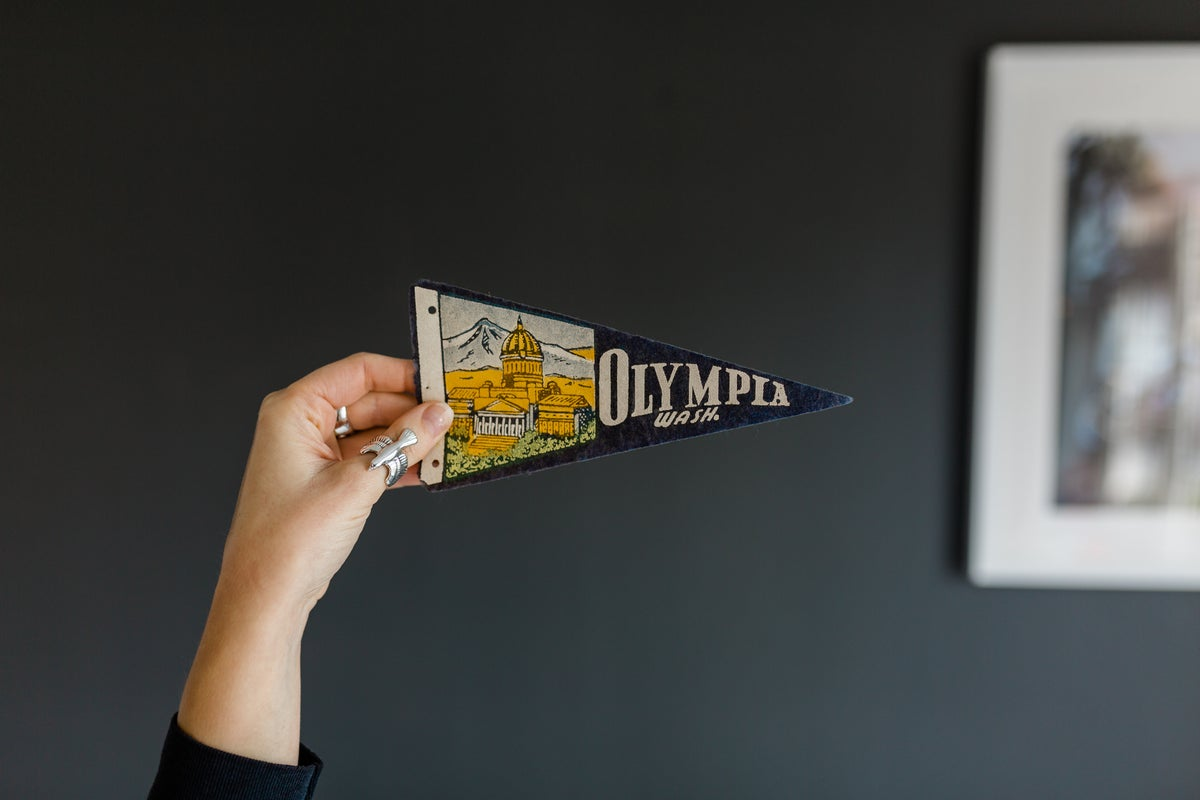 "Image of Olympia - Washington ""Mini"" Pennant"