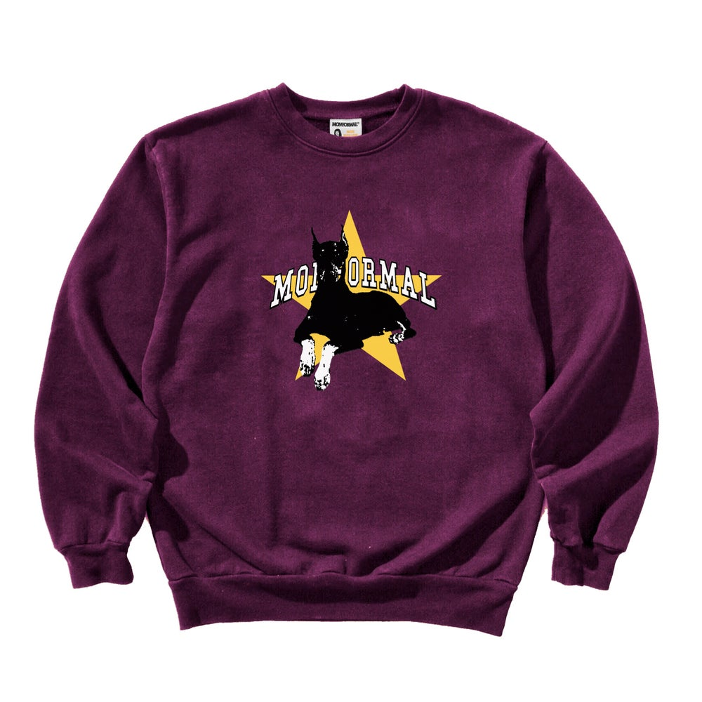 Image of BITESTAR CREWNECK (PLUM)