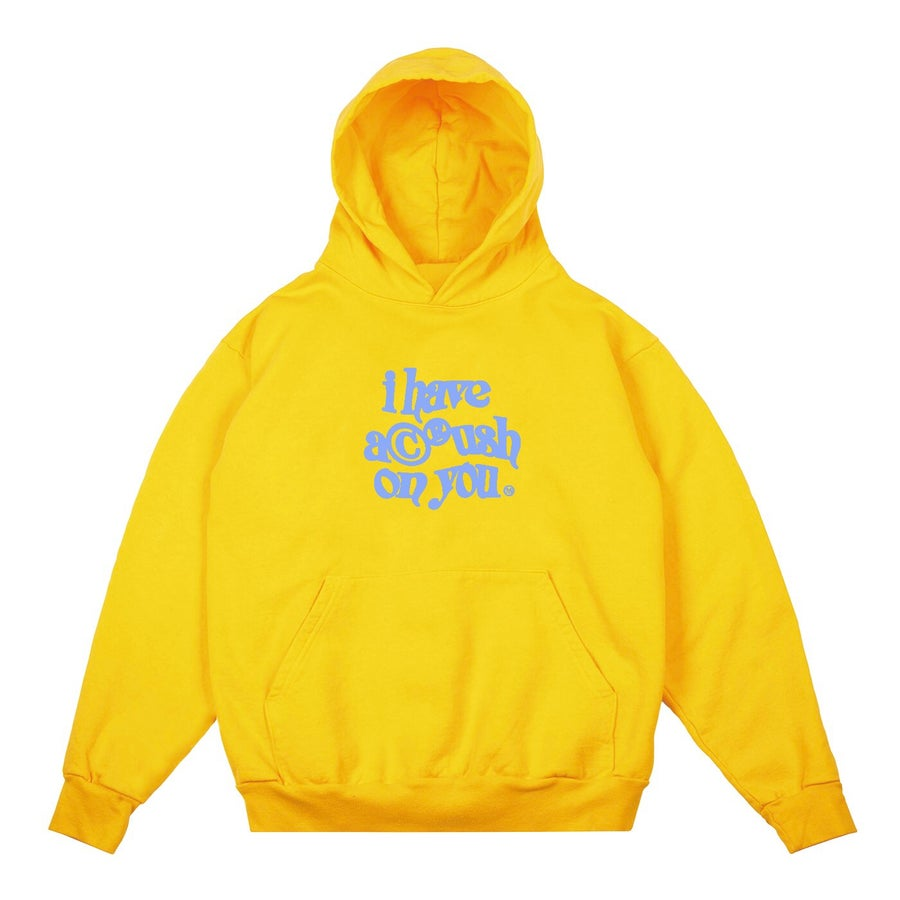 Image of CRUSH HOODIE (GOLD)