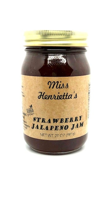 Image of Strawberry Jalapeño Jam