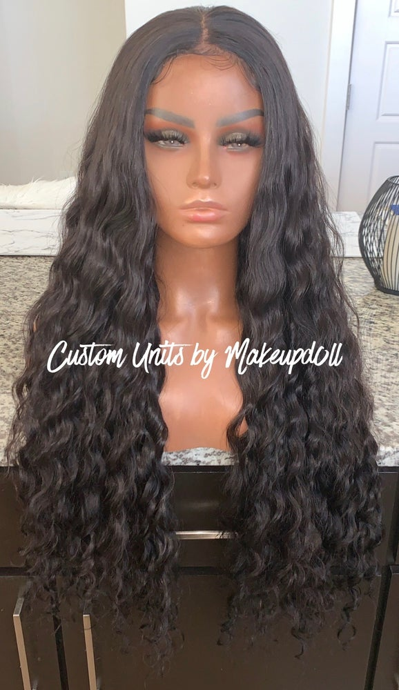 "Image of Cambodian Natural Wave 28"" Lace Closure Wig! (50% OFF)"