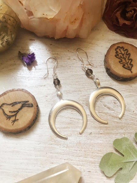 Image of Dark of the Moon Earrings
