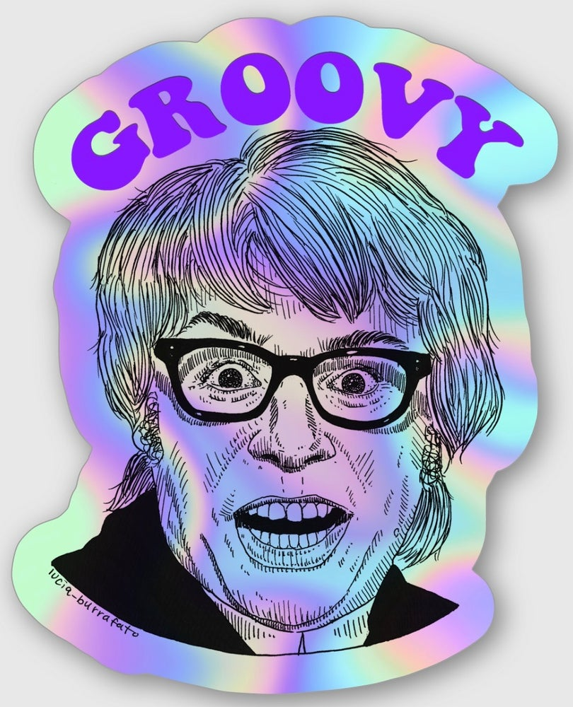 Image of Austin Powers Groovy Baby Stickers