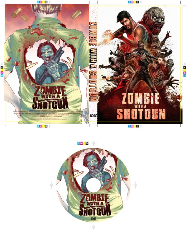 Image of Zombie with a Shotgun Signed DVD