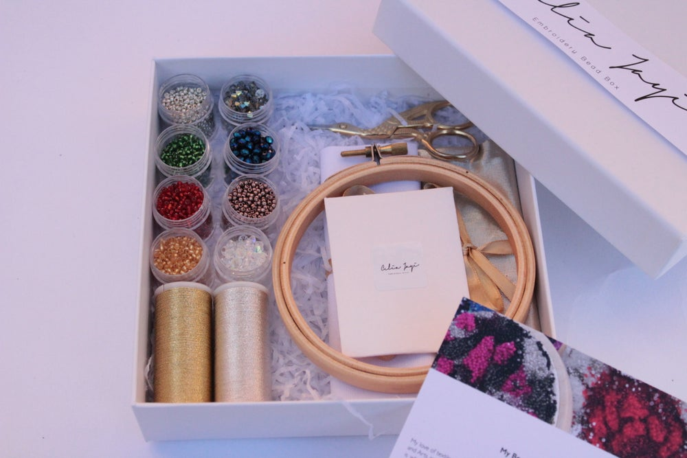 Image of Sparkled Bead Box