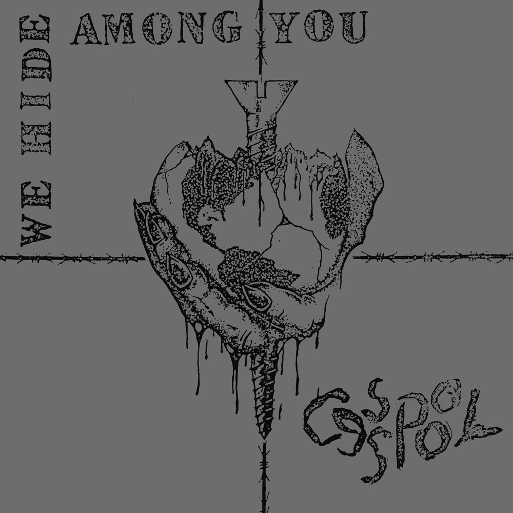 "Image of CESSPOOL ""We Hide Among You"" 12"""