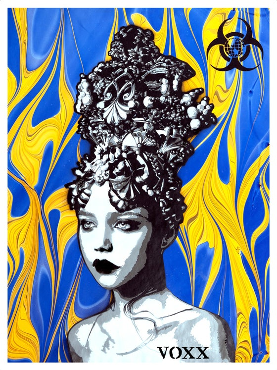 "Image of ""Akashic Crown"" Limited Edition Print Release"