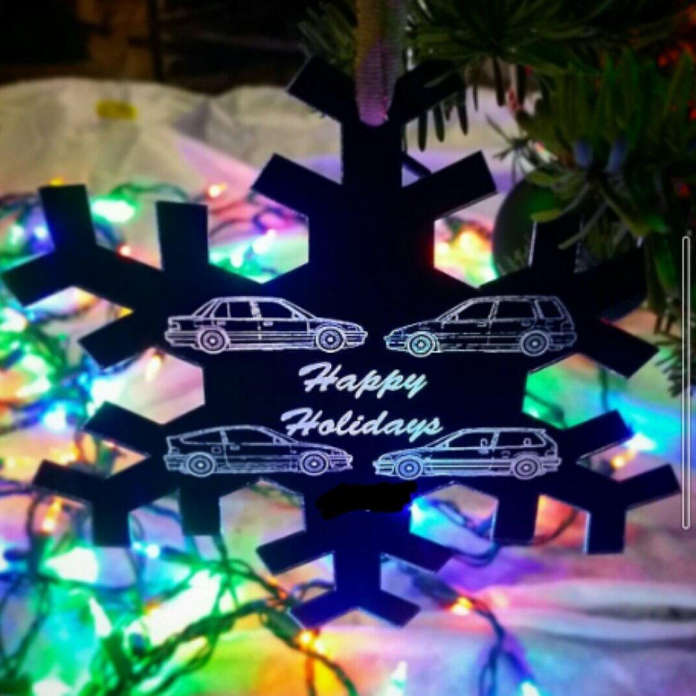 Image of EF Christmas Tree Ornaments