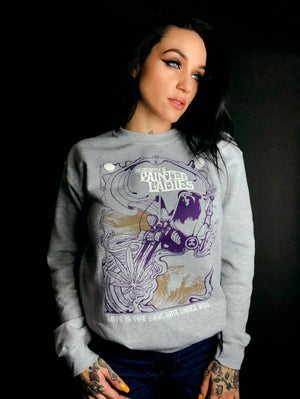 Image of LOVE IS THE LAW ~LOVE UNDER WILL // GREY CREW NECK