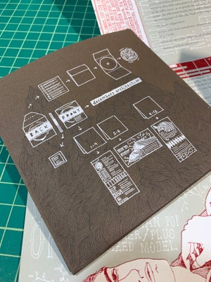 "Image of decembers architects ""',apiary ennui and curiosas. The brew shakes"" CD w/handmade packaging"
