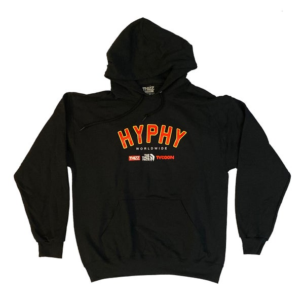 Image of HYPHY WORLDWIDE - CITRUS BLACK HOODY
