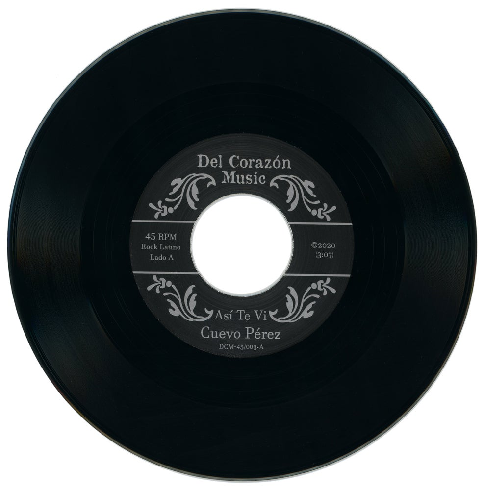 "Image of Cuevo Pérez (45rpm) - ""Así Te Vi / Esclavo y Amo""  **w/download card & jukebox strip"