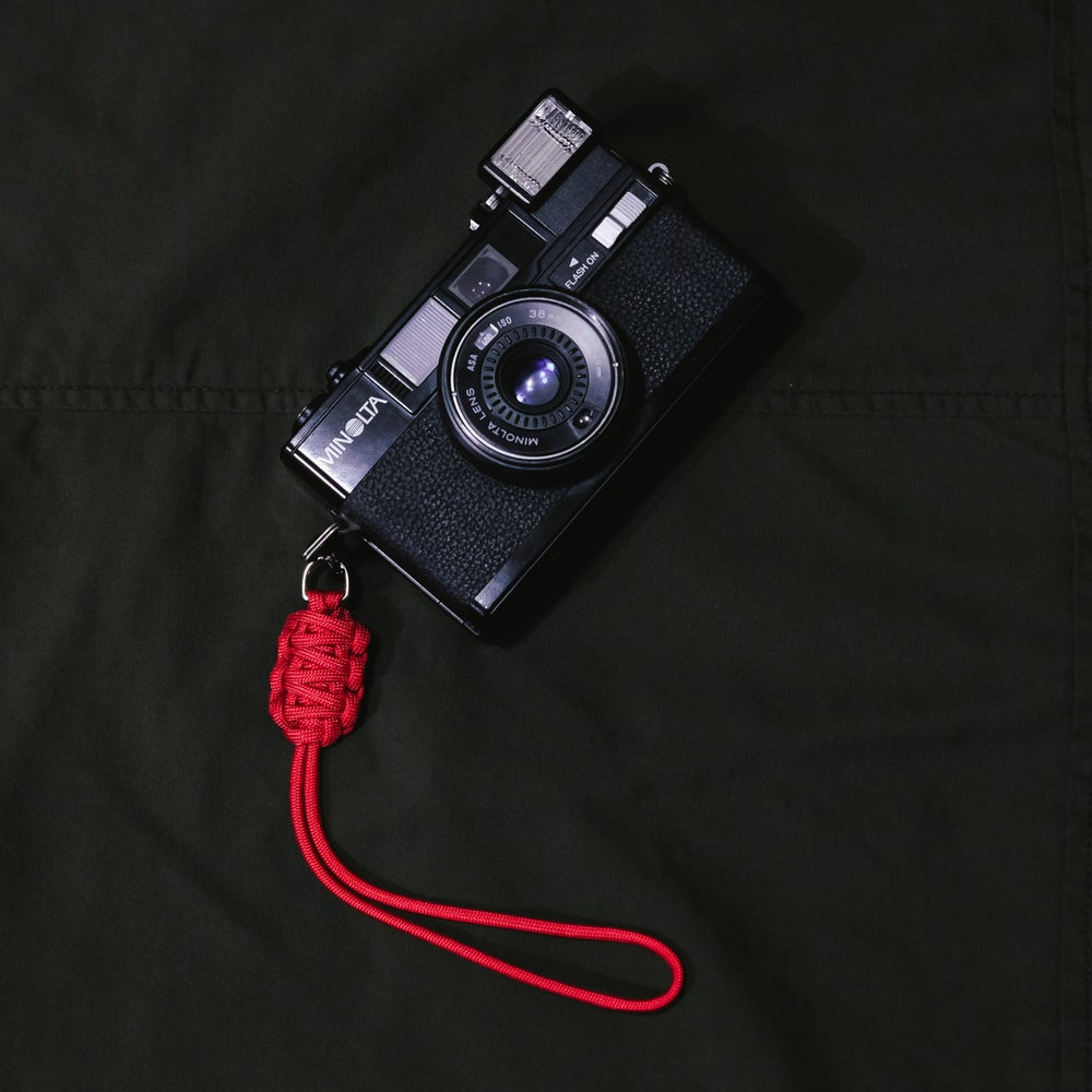 Image of Camera lanyard handle (double strap weave)