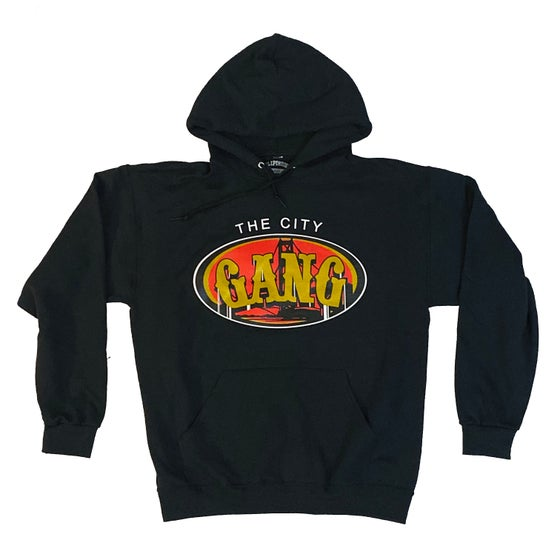 Image of THE CITY GANG - HOODY