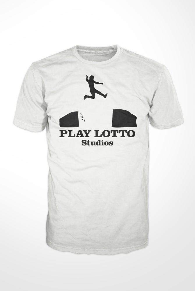 Image of PLAY LOTTO STUDIOS  T-Shirt White