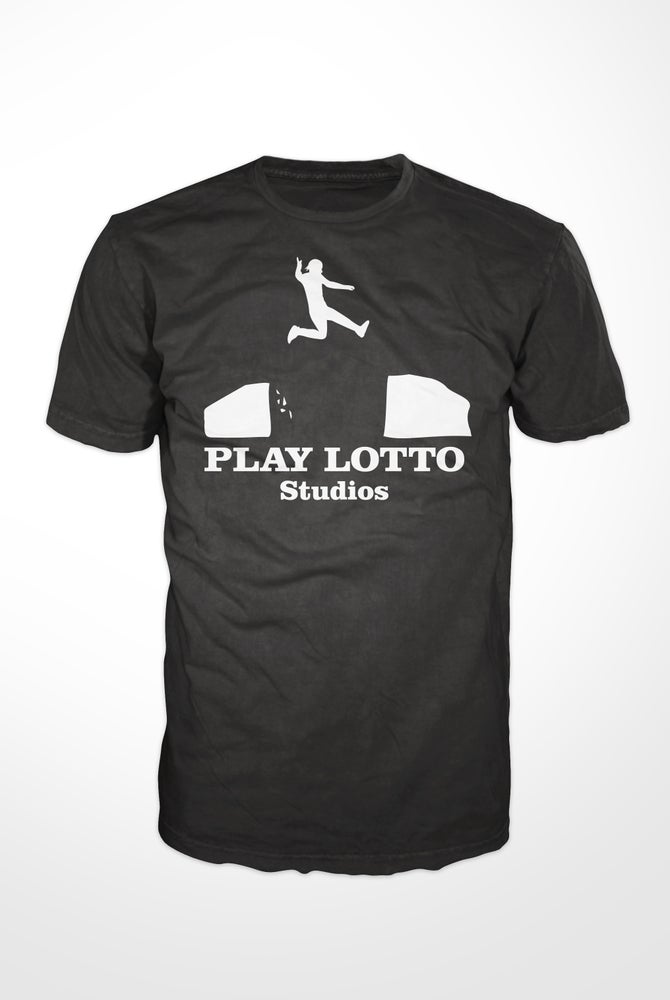 Image of PLAY LOTTO STUDIOS T-Shirt Black
