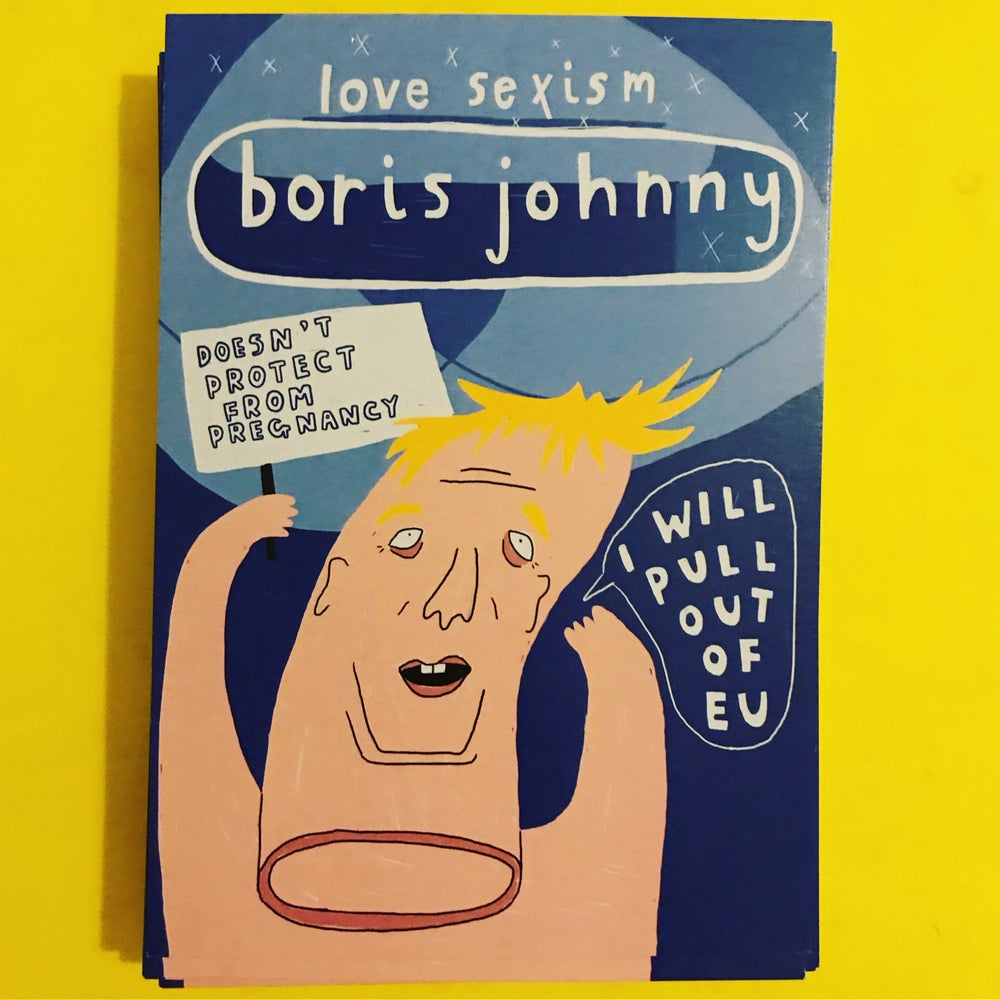 Image of Boris Johnny Postcard