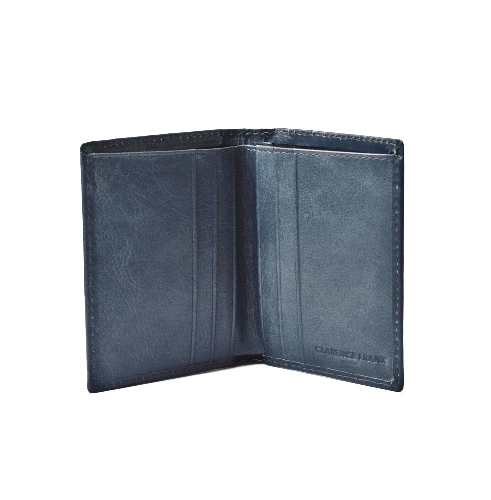 Image of Thomas Mens Wallet - Black, Blue