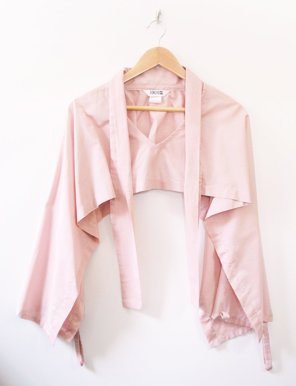 Original Poncho - Dusty Pink
