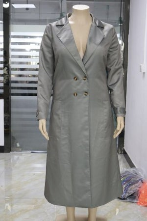 "Image of ""The Drip"" Artwork Trench Coat"