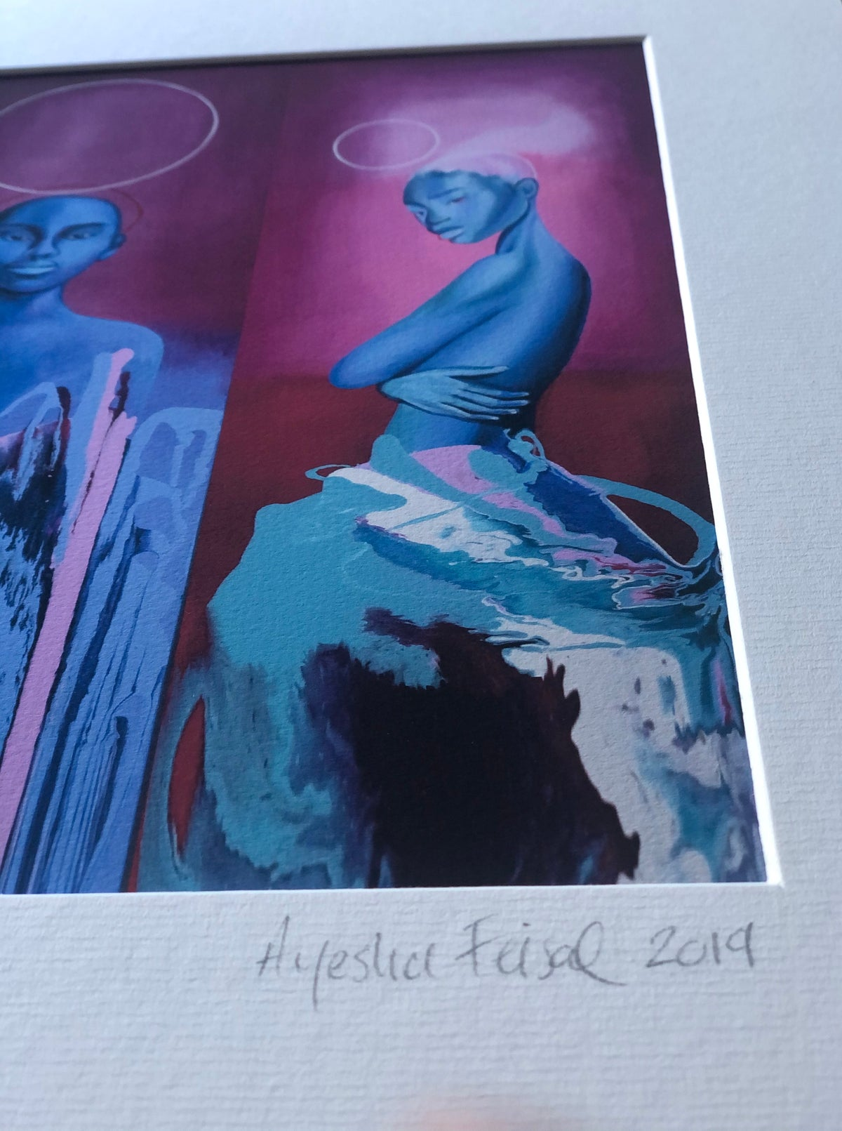 Image of With Adam's Ale Eve Knows (II) limited edition print